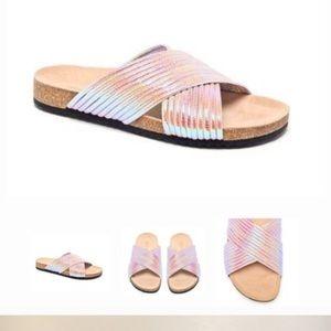 Loeffler Randall Petra Criss Cross Strap Shoes